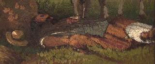 La siesta [detalle] Prilidiano Pueyrredon